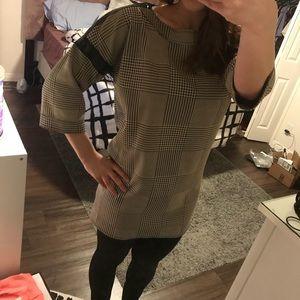 Zara Long Patterned Top